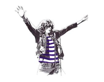 Joey Ramone limited giclee print