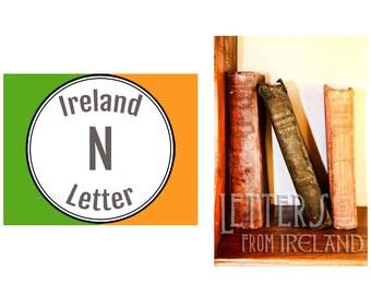 Ireland Alphabet Photography: Letter N Photograph