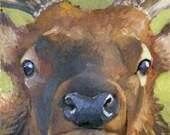 "Elk Spirit Animal 8"" x 10""  Limited Edition Giclee Print"