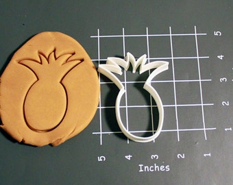 Pineapple Cookie Cutter Made to order E0108