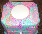 items similar to lets chacha lilly pulitzer inspired