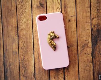 iPhone X Case iPhone 8 Case Animal Case Giraffe Pink iPhone 6 Plus Case Cute iPhone6 Cases iPhone 6s iPhone 7 Plus Case Girly iPhone 7 Case