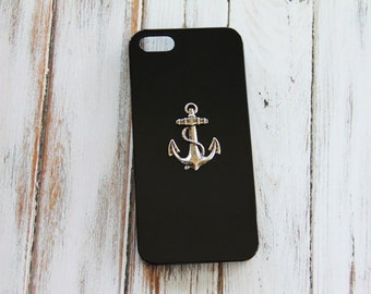 Nautical iPhone 7 Plus Case Nautical iPhone 7 Case Black iPhone 5 Case Black iPhone 7 Case Black iPhone 7 Plus Case Anchor Anchor Case