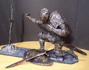 "Dark Souls 12"" Elite Knight at Bonfire statue limited edition of 100"