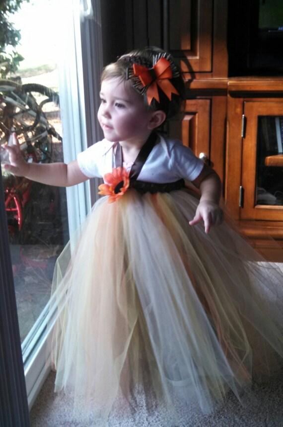 Items Similar To Scarecrow Tutu Dress Toddler Tutu Costume