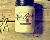 Apple & Bourbon Vanilla Scented Candle