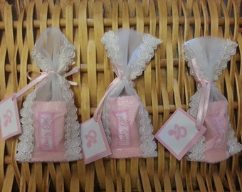 12 Baby Shower Favors // Elegant Baby Shower // Baby Shower Candy Holder /