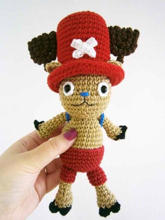 Amigurumi One Piece : Tony Tony Chopper amigurumi One Piece plushie by ...