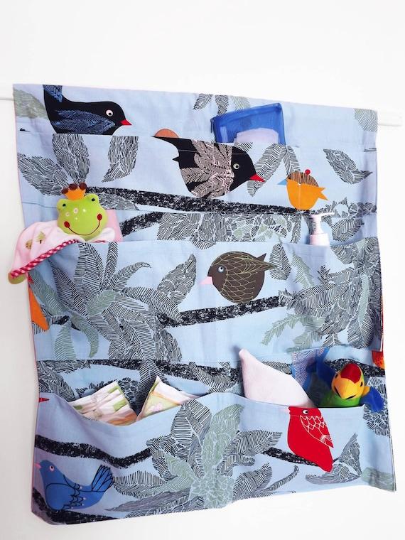 Tasche portaoggetti da parete oggetti per bambini accessori for Asciugamani bambini ikea