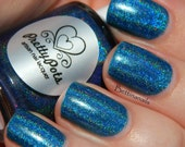 You'll never take my sky by Prettypots Polish - Holographic Polish - 8ml or 12ml Handmixed Holographic Aussie Indie Nail Polish