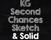 KG Second Chances Sketch and Solid Font Set (Commercial License for One User)