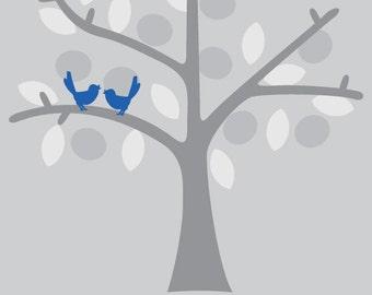 Wedding Birds Poster