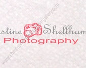 Do it yourself Premade Fine Art Logo Pink Camera, Promotion For Limited Time Low Price, for Photography or Shop, Instant Download PSD File