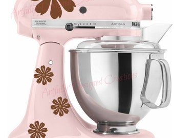 Flower Mixer Decal