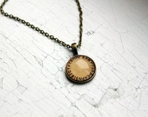 Viking runes pendant Nordic Jewelry Northern necklace Vintage style NW18