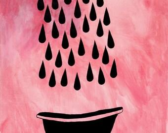 rain catcher (a good soak)