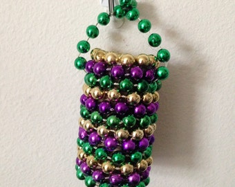 Mardi Gras Bead Ornament