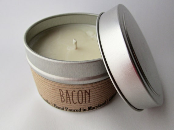 Bacon Candle on Etsy