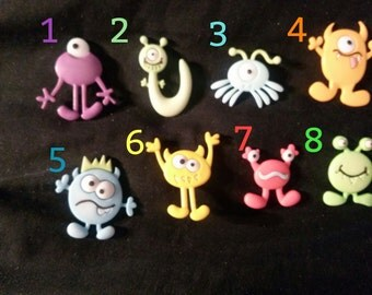 Monsters Flexible Silicone Mold