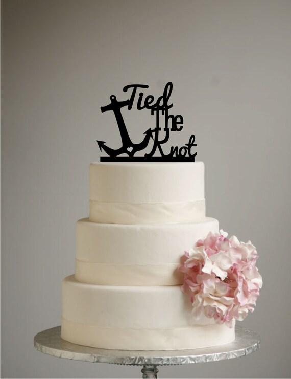 Anchor Cake Topper