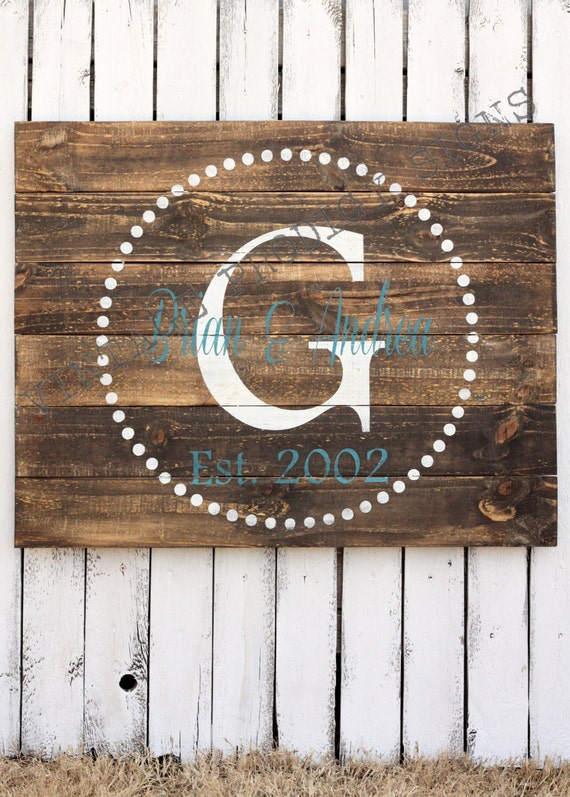 Custom wood sign established wood sign by vintageprodigysigns Where can i buy reclaimed wood near me