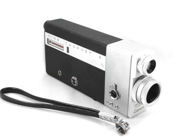 Canon Canonet 8 Vintage Cine Camera w/ C-8 10-25mm f/1,8 Lens