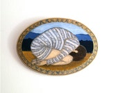 Heavy - Original Acrylic Painting on Wood