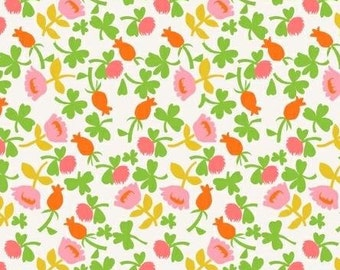 Briar Rose by Heather Ross, JERSEY Knit Calico Floral HR7027J Pink