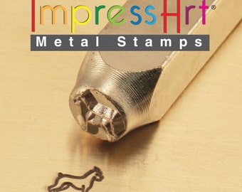ImpressArt Metal Stamp Boxer 6mm, Metal Stamp (21-09-152)