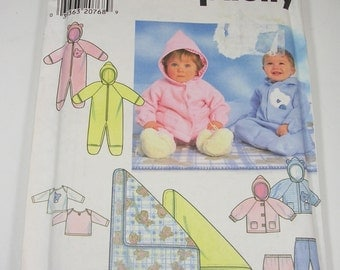 Simplicity 7807 Babies Romper,Jacket,Pants,Blanket and Knit Top Pattern - UNCUT Pattern
