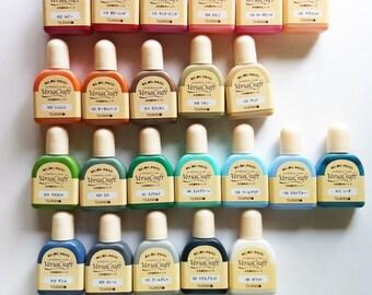 versacraft refill ink bottle. tsukineko versa craft stamp pad refill pigment ink. only 1 BOTTLE PER COLOR in stock. order 1 bottle per color