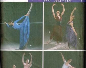 Ballerina Ballet Dancer Gown Costume Dress Simplicity 5138 Sewing Pattern Andrea Schewe Cut Size 6 8 10 12 Bust 30.5  31.5 32.5 34
