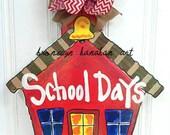 School House Door Hanger - Bronwyn Hanahan Art
