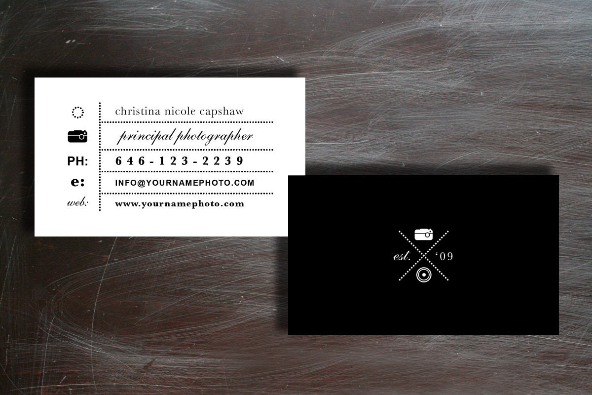 50% OFF Moo Business Card Templates Photographer Business