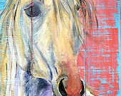 Reserved Listing for Piper Security Deposit Horse Painting
