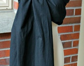 Umi Sling Baby Carrier: Handprinted Cotton-Linen Blend (Modern Bubbles)