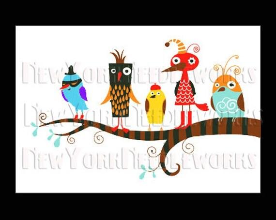 Birds Cross Stitch Pattern, Cross Stitch Pattern, Cross Stitch Silhouette, Birds Group, Birds from NewYorkNeedleworks on Etsy