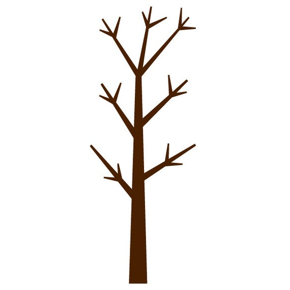 forest tree wall stencil for painting kids or baby room mural. Black Bedroom Furniture Sets. Home Design Ideas