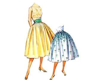 Free Sewing Patterns: Circle Skirt Pattern