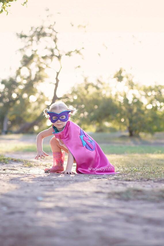 Halloween Costume - Custom Super Hero Cape - Personalized Superhero Cape - Super Hero Mask - Super Hero Cuffs - Christmas Gift - Birthday