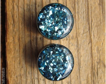 Oceanic Shard Plugs - 0g, 00g, 7/16, 1/2, 9/16, 5/8, 3/4, 7/8, 1 Inch