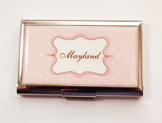 Personalized Business Card Case Custom Case card case