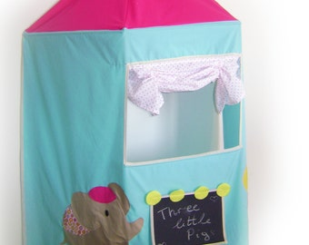 3D puppet theater / wall puppet theater