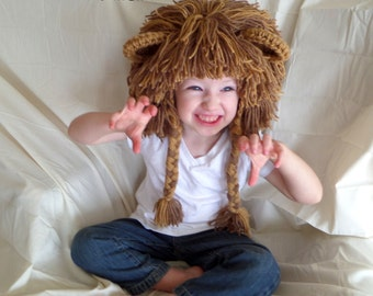 Boy Hats Lion Wig Gift Ideas for Boys Lion Costume Halloween Costume