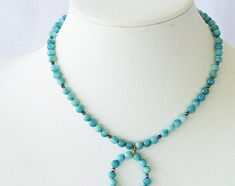 Blue bead necklace, blue beads, blue jewelry, stone necklace, blue necklaces, blue gem, blue bead, light blue, gemstones, gemstone