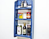 items similar to kitchen shelf spice rack wall. Black Bedroom Furniture Sets. Home Design Ideas