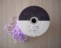 12yards japanese MOKUBA ribbon. LAVENDER color ribbon.3.5 m/m