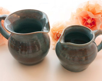 Blue Porcelain Pitcher (Only One Available)