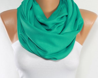 Mint Scarf Oversize Pashmina Scarf Spring Scarf Mint Shawl Gift Ideas For Her For Mom Mother's Day St Patrick's Day ESCHERPE