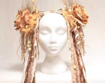 Dready Flower Headdress